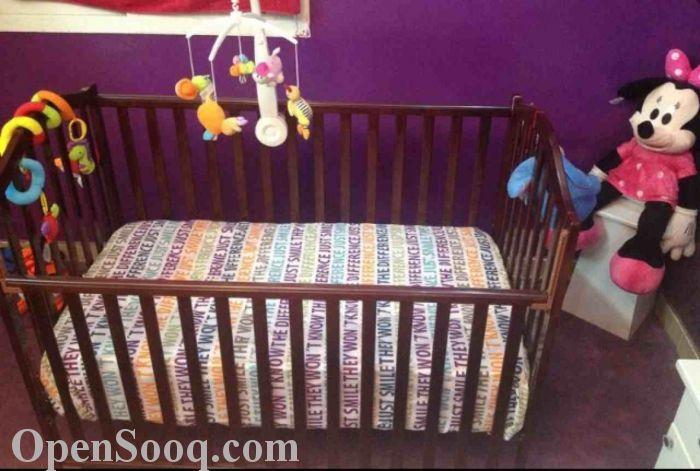 : سرير اطفال للبيع بجدة : اطفال