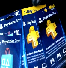 PlayStation Plus / Store Credit for PS4, PS3, PS VITA
