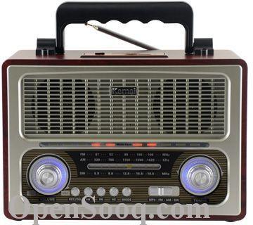 راديو شكل قديم