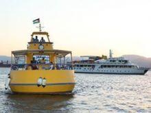 رحلات بحرية قارب الغواصة فوق الماء تحت الماء