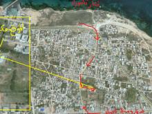 قطعة أرض للبيع 550م2 قريبه من البحر وفنار تاجوراء 600دينار للمتر