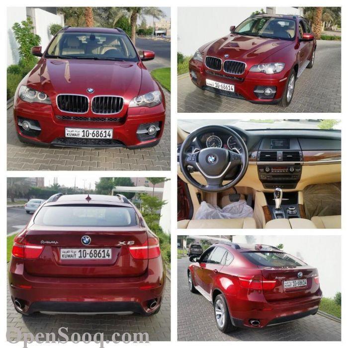 BMW X6 - 2012 Red - (18649785)