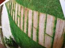 ارضية حدائق تركب فوق العشب (ديكور)