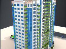 إمتلك شقة فاخره البرج الأخضر السكني