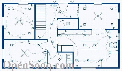 how to draw a house plan on q electic tech